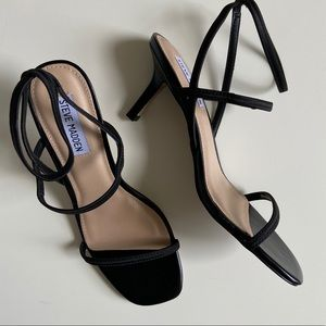 NWB Brand New Square Toe Strappy heeled sandals